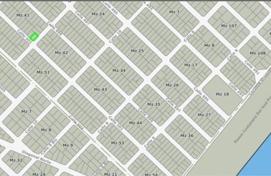 LOTE DE TERRENO MAR DEL PLATA – Bº LOS ACANTILADOS – 4 CUADRAS DEL MAR
